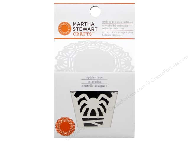 Martha Stewart Circle Edge Punch Cartridge Spider Lace