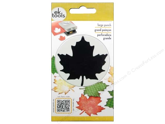 EK Paper Shapers Large Punch Maple Leaf
