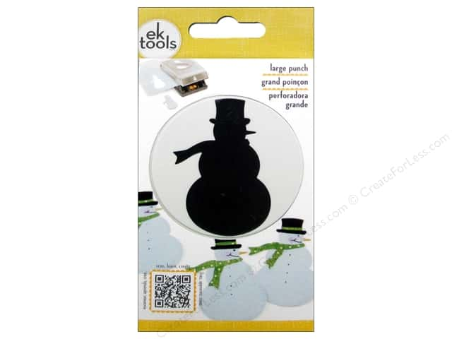 EK Paper Shapers Large Punch Snowman