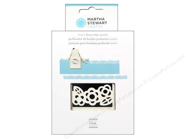 Martha Stewart 2-in-1 Deep Edger Punch Zinnia