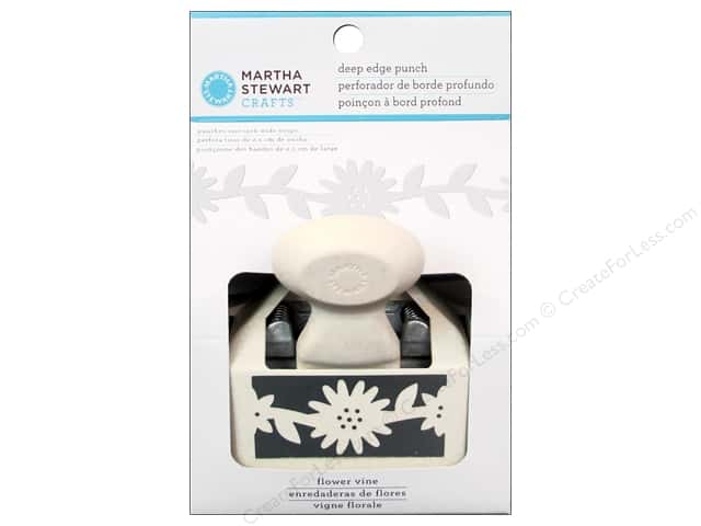 Martha Stewart Deep Edger Punch Flower Vine Trim