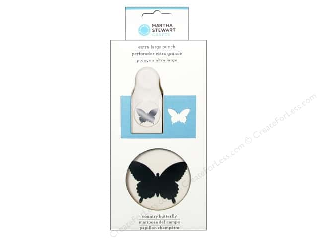 Martha Stewart Extra Large Punch Country Butterfly