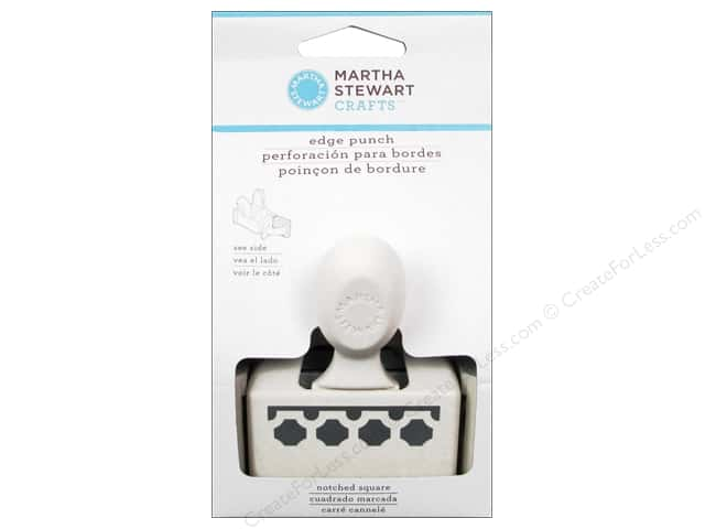 Martha Stewart Edger Punch Notched Square