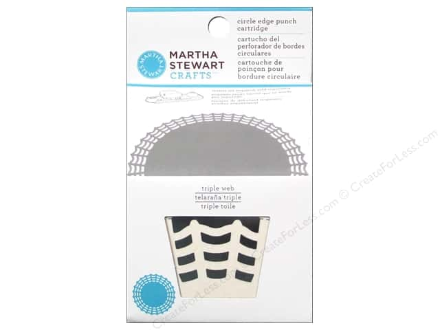 Martha Stewart Circle Edge Punch Cartridge Triple Web