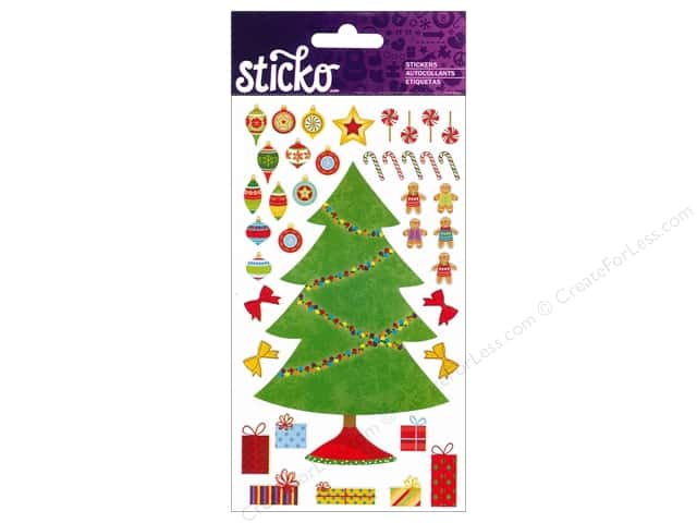 EK Sticko Stickers Decorate Your Tree