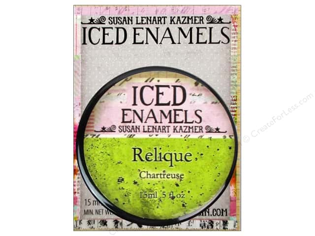 Ice Resin Iced Enamels Relique Chartreuse