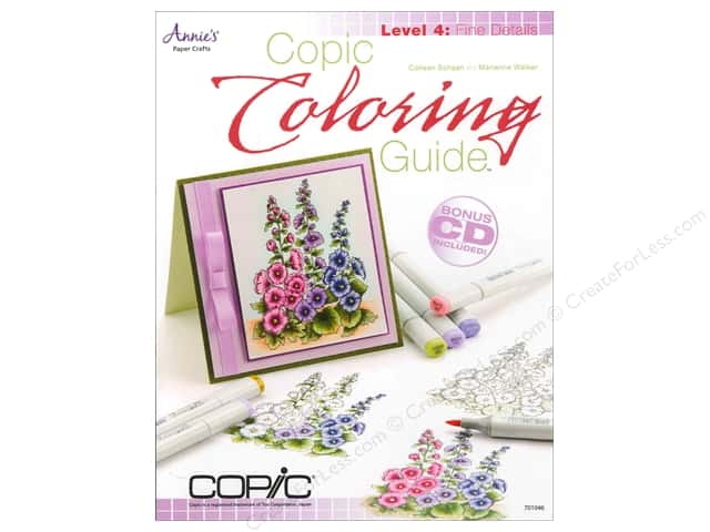 Annie's Copic Coloring Guide Level 4: Fine Detail Book