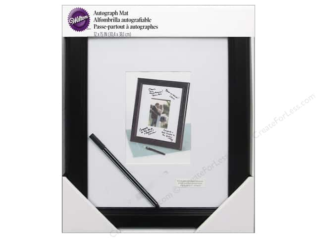 "Wilton Accessories Autograph Mat Framed 12""x 15"""