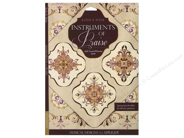 C&T Publishing Instruments Of Praise Pattern by Kathy K. Wylie