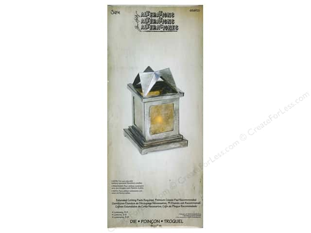 Sizzix Bigz XL Die Luminary 3D by Tim Holtz