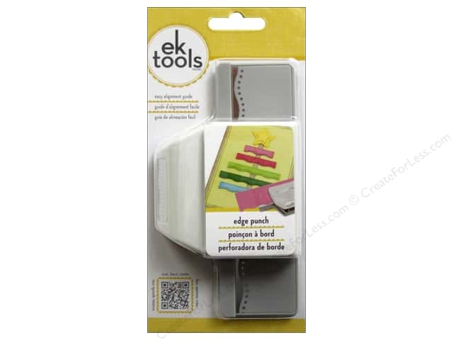 EK Paper Shapers Edger Punch Dotted Wave