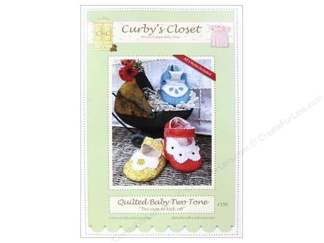 Curby's Closet Quilted Baby Two Tone Pattern