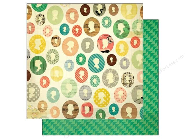 Crate Paper 12 x 12 in. Paper Close Knit Ancestors (25 sheets)