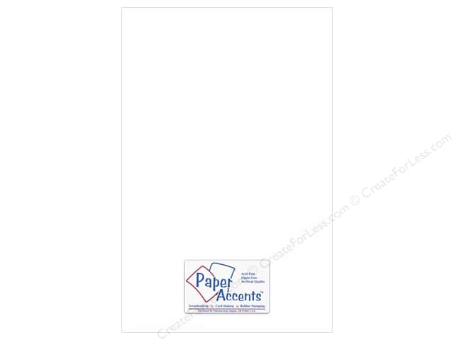 Paper Accents Adhesive Vinyl 12 x 24 in. Removable White (12 pieces)
