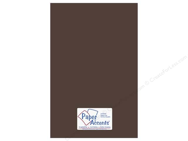Paper Accents Adhesive Vinyl 12 x 24 in. Removable Brown (12 pieces)
