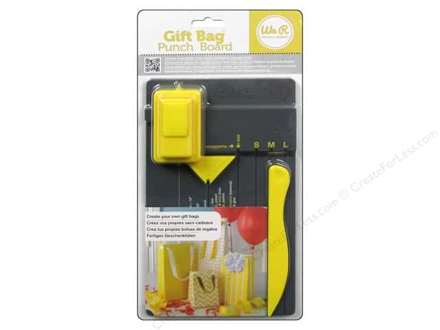 We R Memory Tool Punch Board Gift Bag