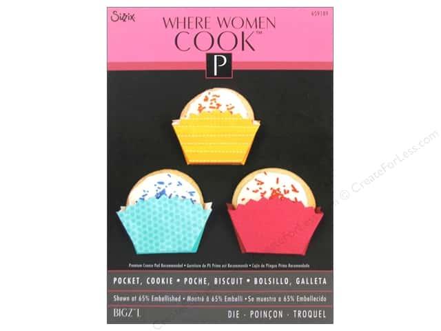 Sizzix Bigz L Die Pocket Cookie by Where Women Cook