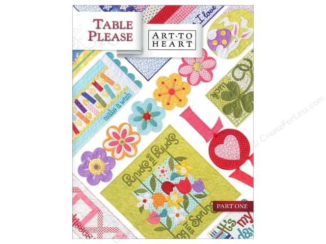 Art to Heart Table Please Part One Book by Nancy Halvorsen