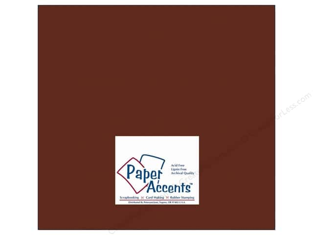 Cardstock 12 x 12 in. #10069 Stash Builder Bark by Paper Accents (25 sheets)