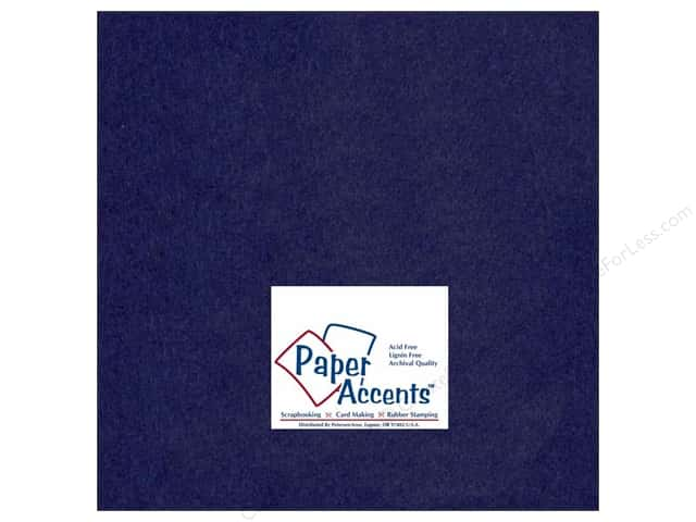 Cardstock 12 x 12 in. #164 Smooth Iris by Paper Accents (25 sheets)