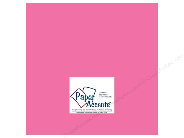 Cardstock 12 x 12 in. #183 Stash Builder Azalea by Paper Accents (25 sheets)