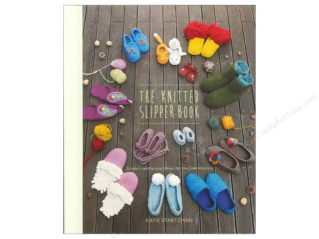Stewart Tabori & Chang The Knitted Slipper Book by Katie Startzman