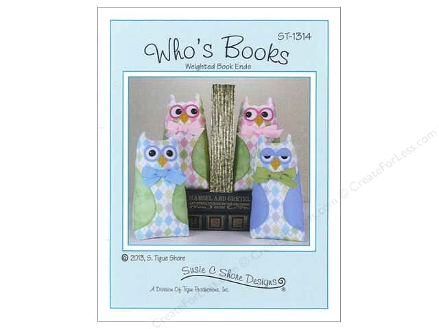 Susie C Shore Who's Books Pattern