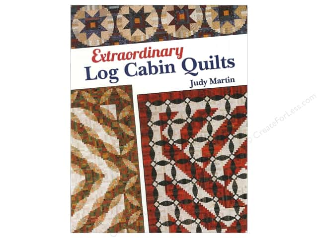 Crosley-Griffith Extraordinary Log Cabin Quilts Book