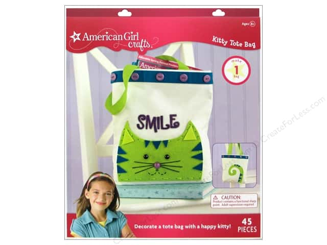 American Girl Kit Kitty Tote Bag