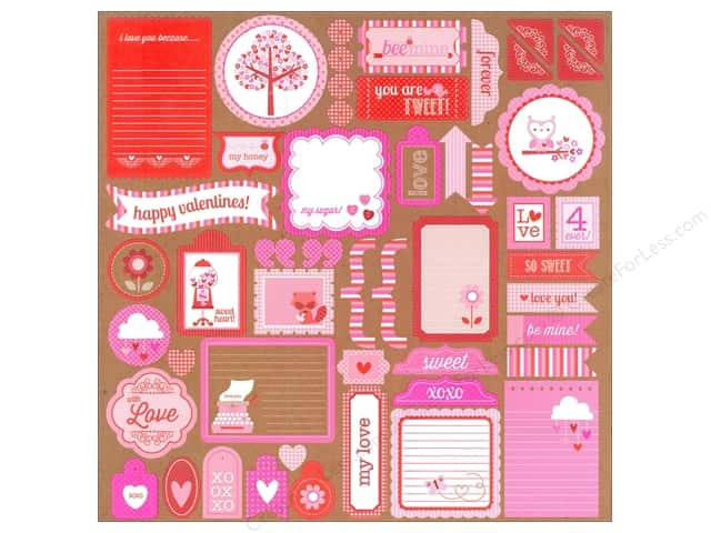 Doodlebug Stickers Sweetheart This & That