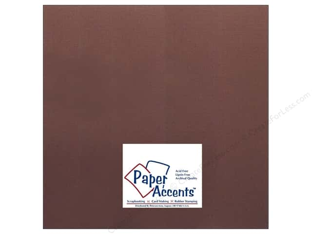 Cardstock 12 x 12 in. #725 ChexEspresso by Paper Accents (25 sheets)