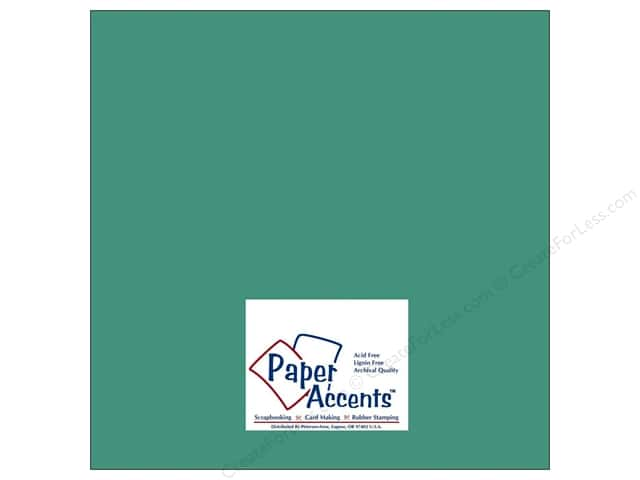 Cardstock 12 x 12 in. #8032 Muslin Blue Calypso by Paper Accents (25 sheets)