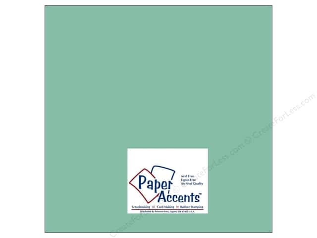 Cardstock 12 x 12 in. #8035 Muslin Artisan Pool by Paper Accents (25 sheets)