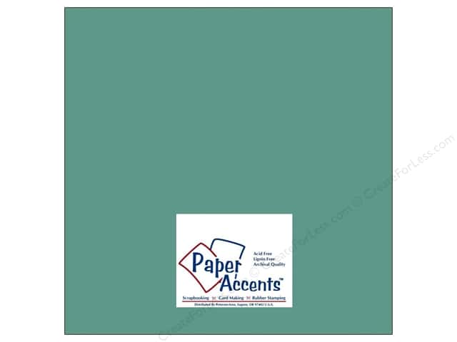 Cardstock 12 x 12 in. #8036 Muslin Blue Oasis by Paper Accents (25 sheets)