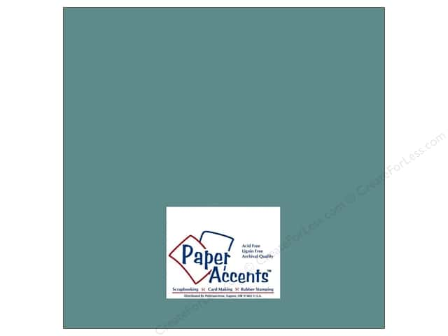 Cardstock 12 x 12 in. #8040 Muslin Blue Odyssey by Paper Accents (25 sheets)