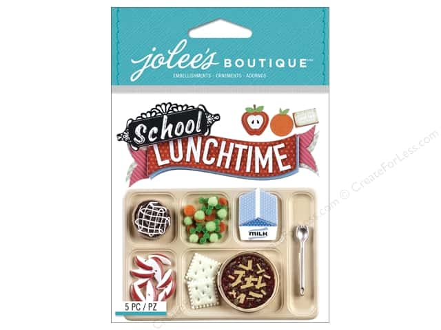 Jolee's Boutique Stickers School Lunch