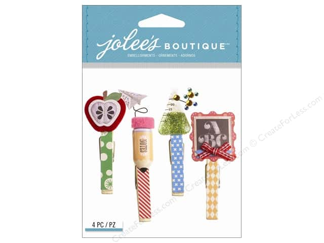 Jolee's Boutique Stickers School Clips