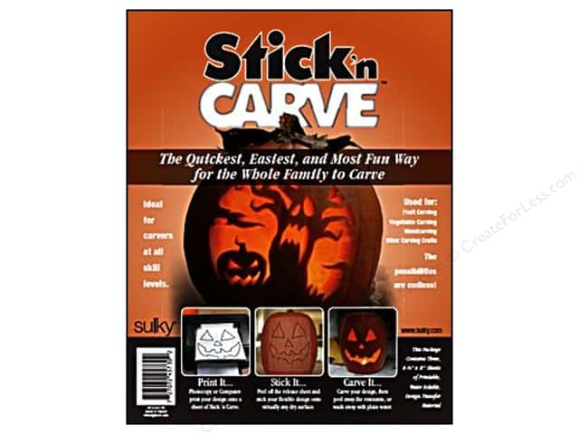 Sulky Stick 'n Carve 8 1/2 x 11 in. 3 pc.