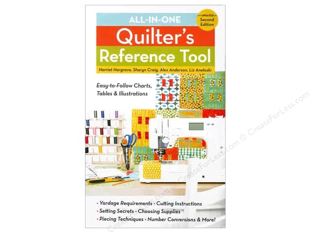 C&T Publishing All-in-One Quilter's Reference Tool 2nd Edition Book