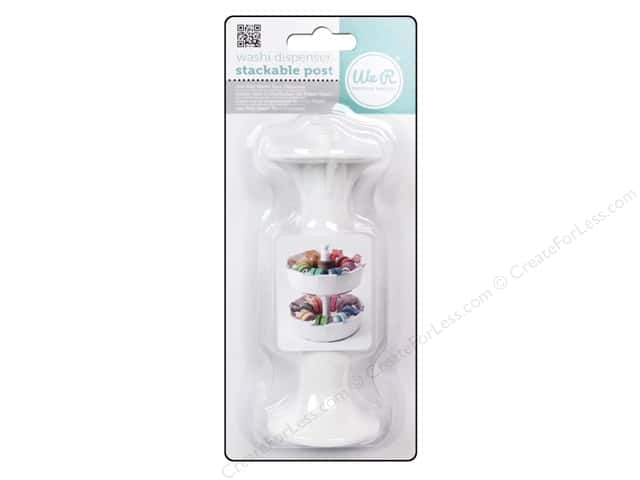 We R Memory Tool Washi Tape Dispenser Stackable Post