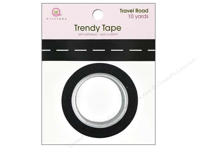 Queen&Co Trendy Tape 10yd Travel Road