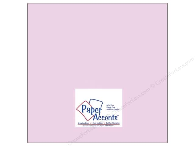 Cardstock 12 x 12 in. #8053 Muslin Cool Heather by Paper Accents (25 sheets)