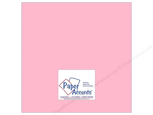 Cardstock 12 x 12 in. #8057 Muslin Mauve Ice by Paper Accents (25 sheets)