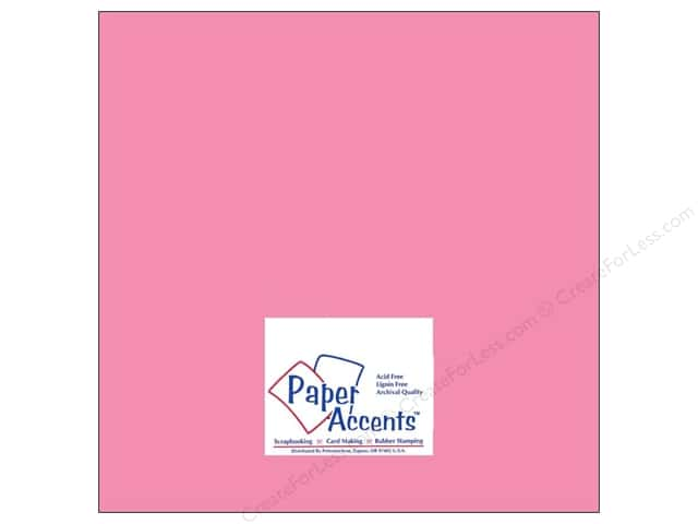 Cardstock 12 x 12 in. #8058 Muslin Vintage Pink by Paper Accents (25 sheets)