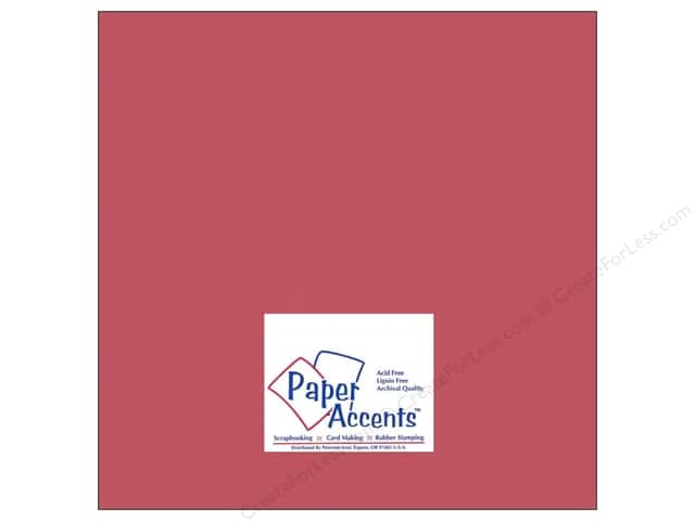 Cardstock 12 x 12 in. #8059 Muslin Brandywine by Paper Accents (25 sheets)