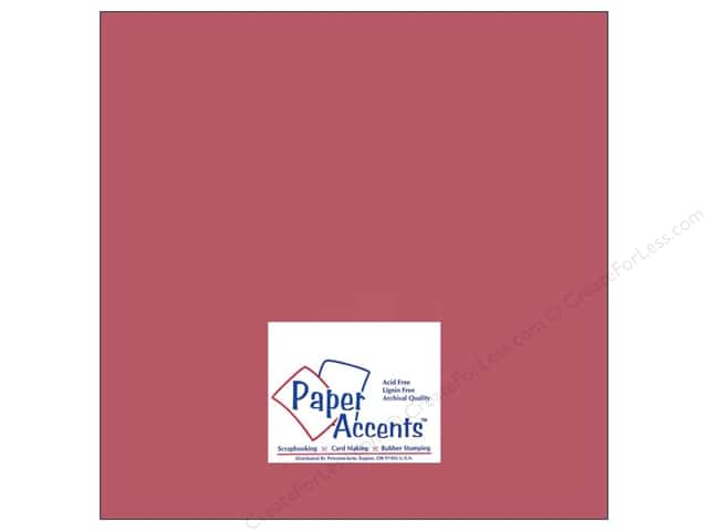 Cardstock 12 x 12 in. #8060 Muslin Brocade by Paper Accents (25 sheets)