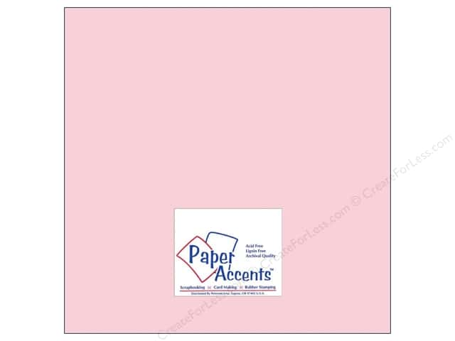 Cardstock 12 x 12 in. #8062 Muslin Blushing by Paper Accents (25 sheets)