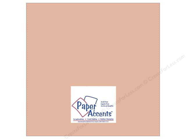 Cardstock 12 x 12 in. #8065 Muslin Iced Cocoa by Paper Accents (25 sheets)