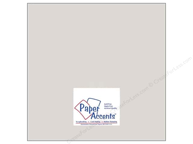 Cardstock 12 x 12 in. #8073 Muslin Mystique by Paper Accents (25 sheets)