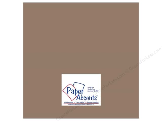 Cardstock 12 x 12 in. #8075 Muslin Dusk by Paper Accents (25 sheets)
